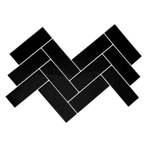Linha Fishbone - Black Piano