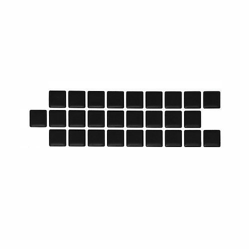 Econômica (Border) - Linha Standard - Black Piano