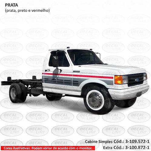 Faixa Auto Adesiva Para F4000 1993 SS - Cabine Extra