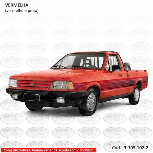 Faixa Auto Adesiva Para Veículo Ford Pampa Modelo 1994