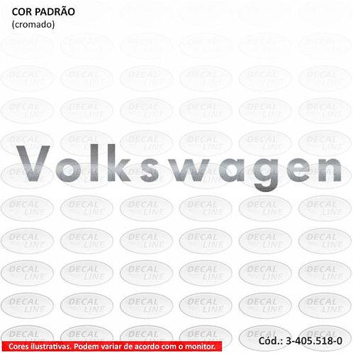 Acessório Auto Adesivo Caminhão Volks - Emblema Para Quebra-Sol