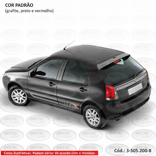 Faixa Auto Adesiva Para Fiat Palio Modelo 1.8R 2006