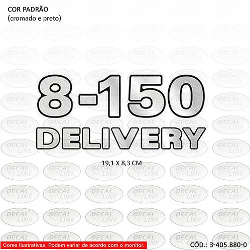 Emblema Numeração Laterais Para Caminhão VW - 8-150 Delivery