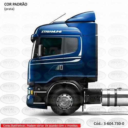 Faixa Auto Adesiva Para Caminhão Scania Streamline 2014