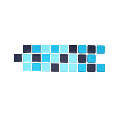 Econômica (Border) - Linha Standard - Blue Bang