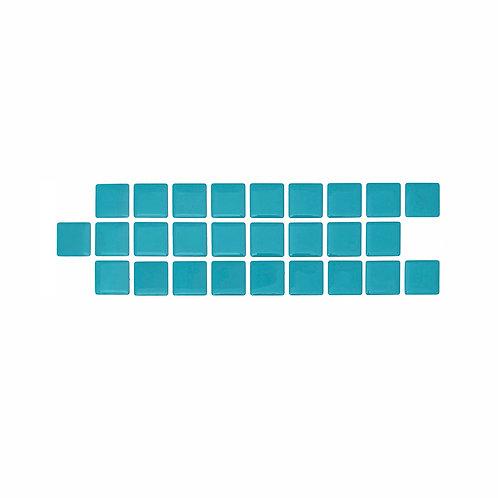 Econômica (Border) - Linha Standard - Turquoise