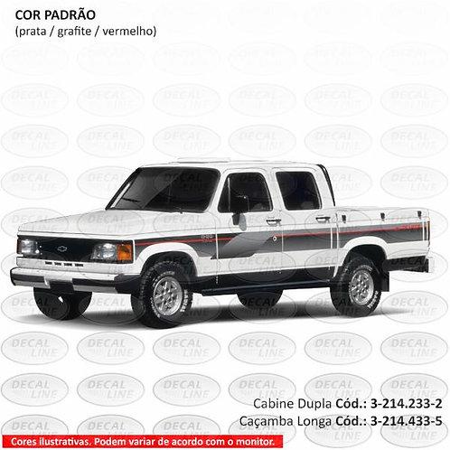 Faixa Auto Adesiva Chevrolet D20 1994 - Cabine Dupla