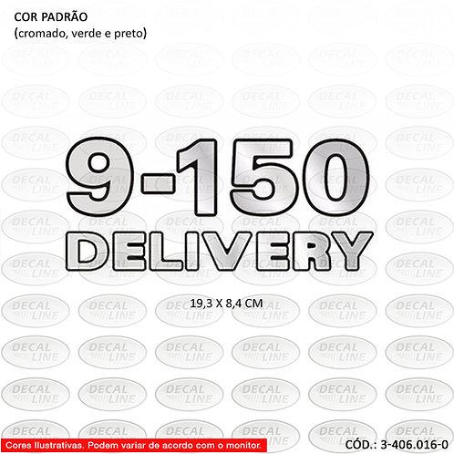 Emblema Numeração Laterais Para Caminhão VW 9-150 Delivery