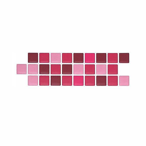 Econômica (Border) - Linha Standard - Pink Power