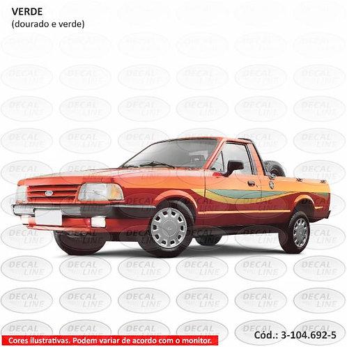 Faixa Auto Adesiva Para Veículo Ford Pampa Modelo 1995