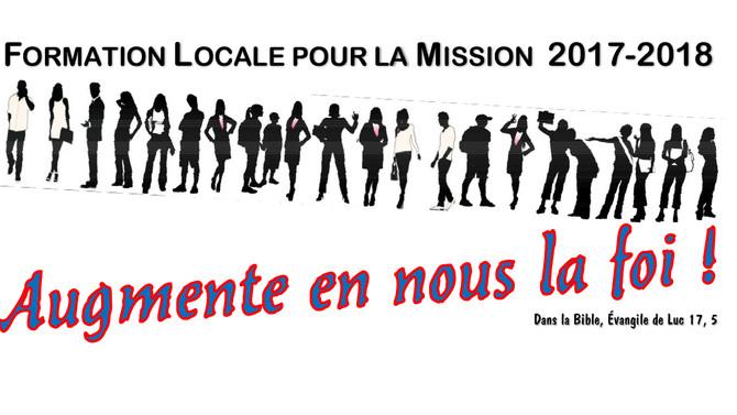 Plus de 130 personnes inscrites à la Formation Locale pour La Mission. Troisième rencontre les 08 et
