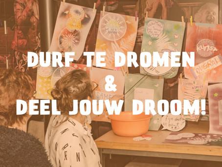 Oproep aan alle Hellevoeters: Deel je dromen in de online Durf te Dromen Community