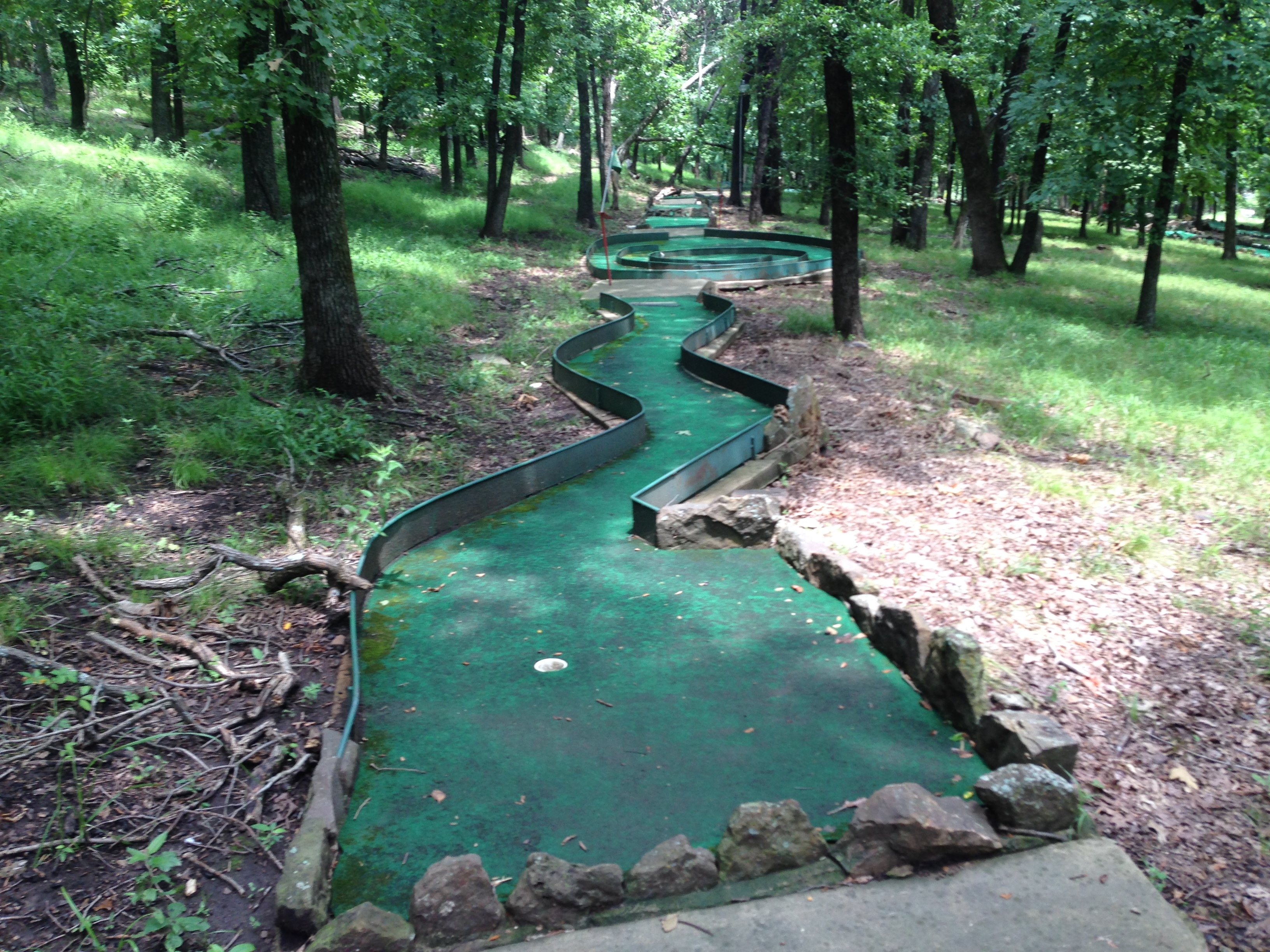 36 hole mini golf.