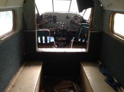 The old twin passenger plane