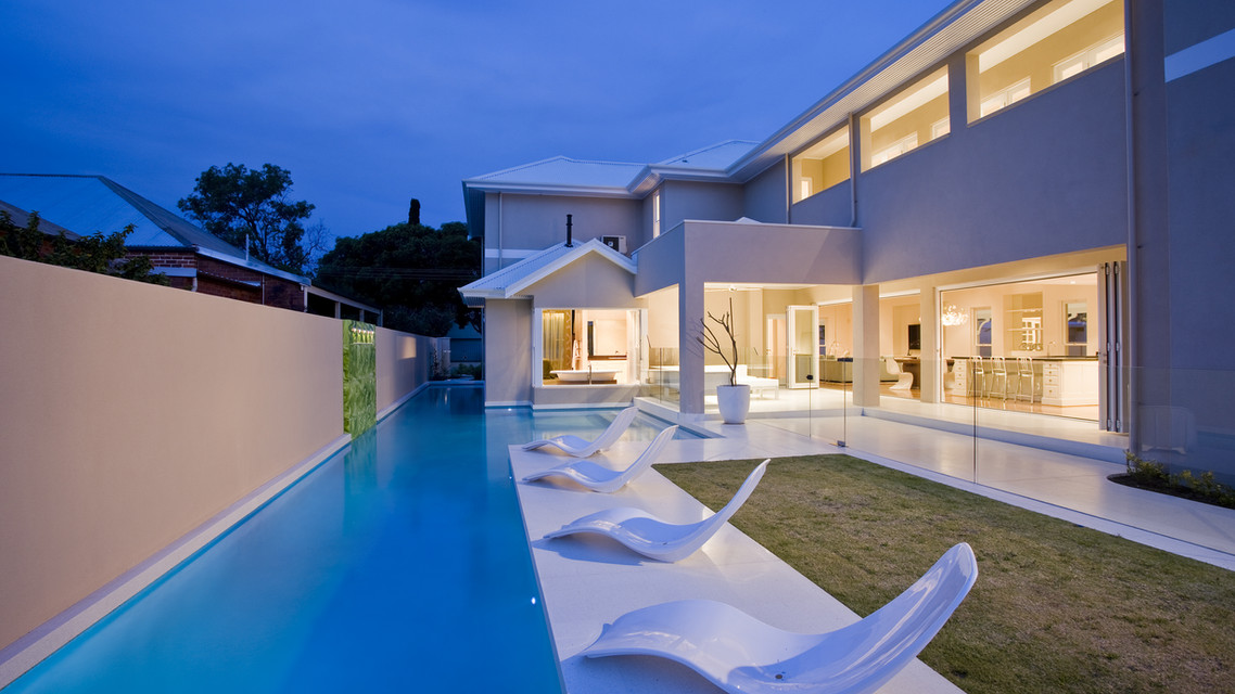 Smart wiring and hoe automation with pool control and security systems with CCTV and WIFI networking