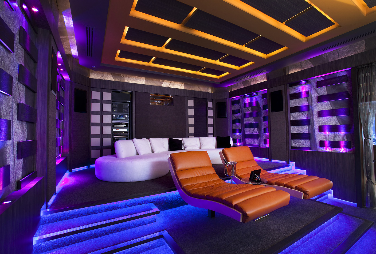 Surrounds Perth Nedlands Technology And Home Automation Smart Wiring Cinema Design With Projection Large Format Screen Furniture