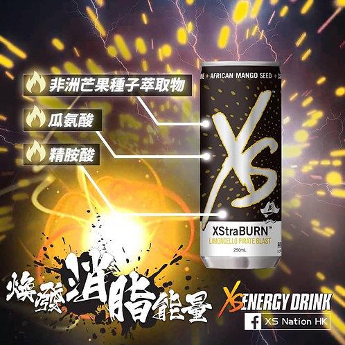 XS 無糖能量飲品 檸檬雪酪味