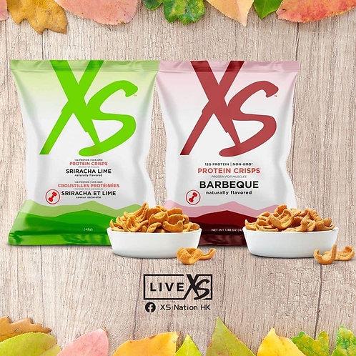 XS蛋白脆片 BBQ及香辣青檸味