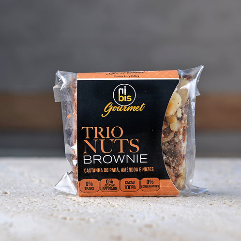 Trio Nuts Brownie