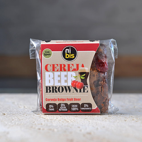 Beer Brownie Cereja