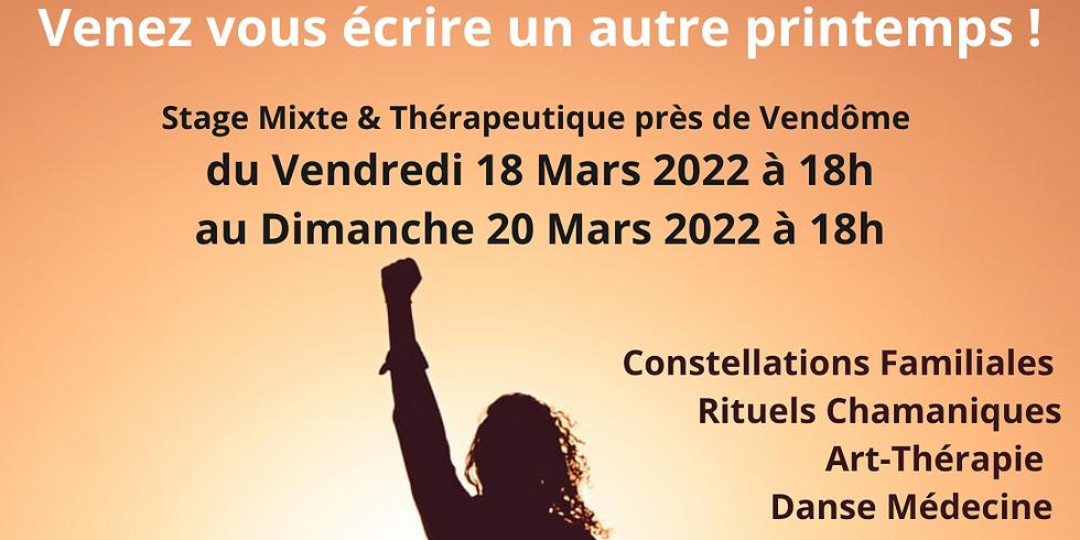 """RETRAITE  CHAMANIQUE """"RENAÎTRE À SOI""""- 18-20 MARS 2022"""