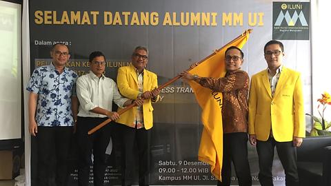 Pengukuhan Ketua Iluni MM UI M. Arif Wib