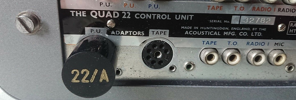 Quad II 22 Pre-amp phono adaptor. Type A (New UK made)