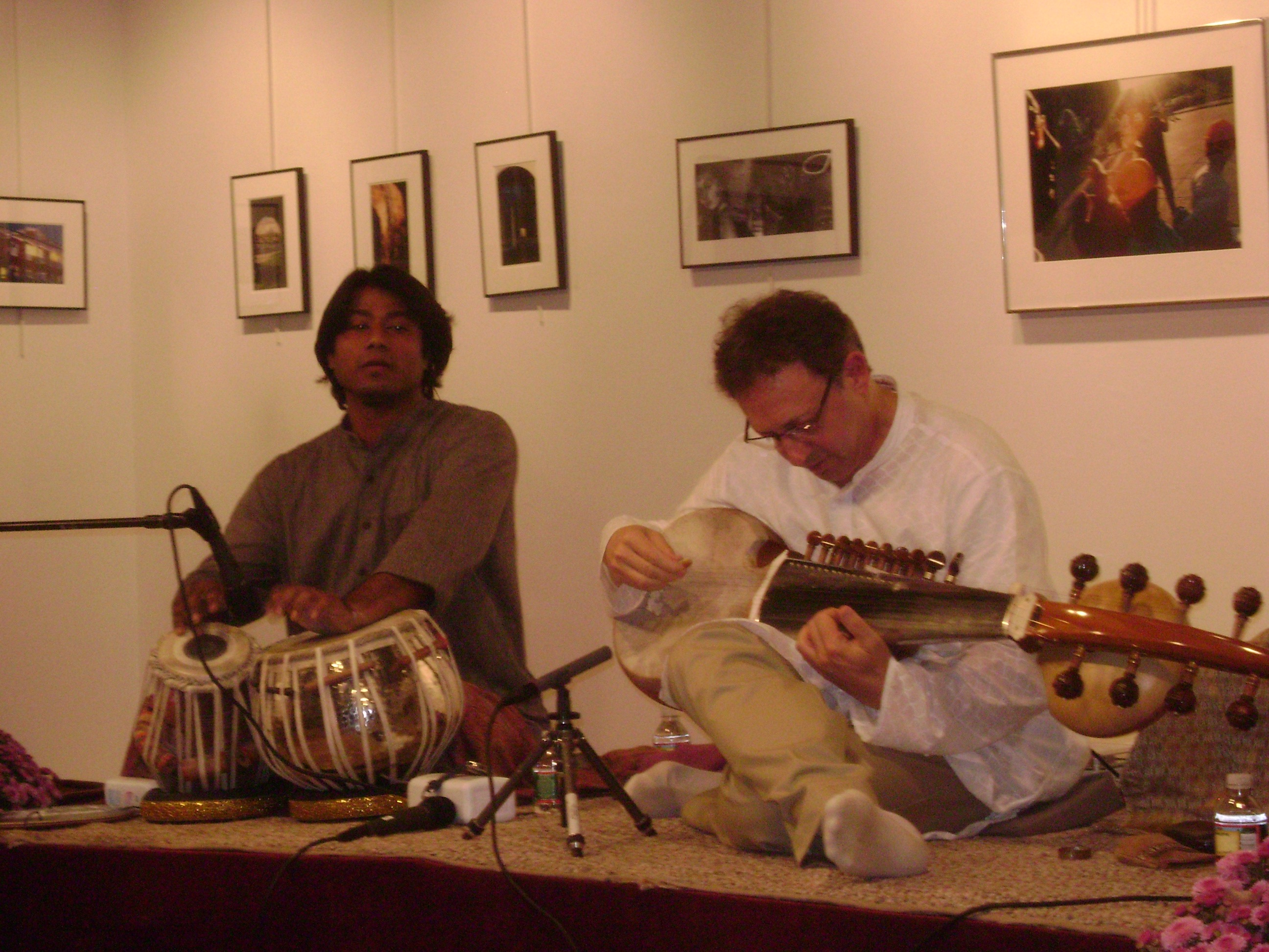 Anirban with Ken Zukerman