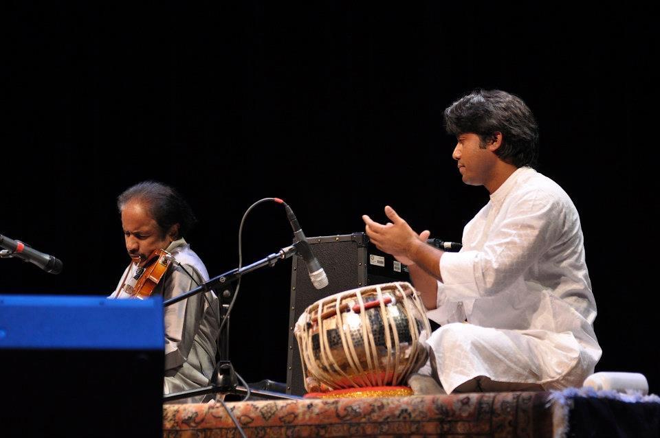 Anirban with Dr L Subramanium