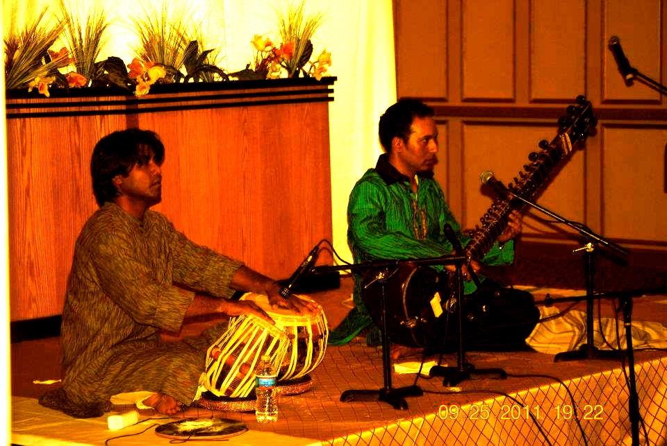 Anirban with Hidayat Khan