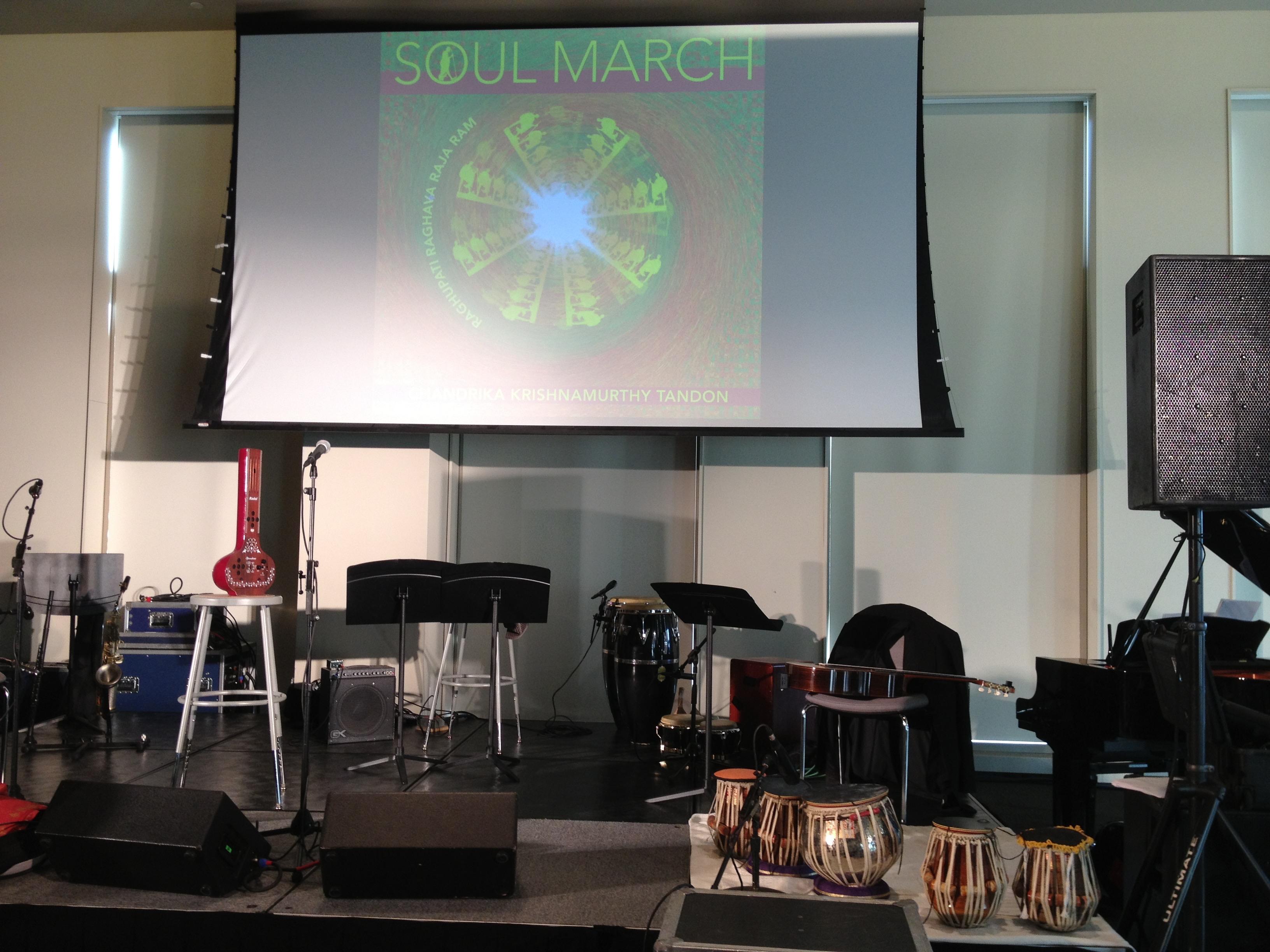 Soul March CD release