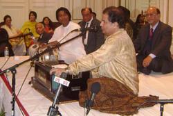 Anirban with Anup Jalota