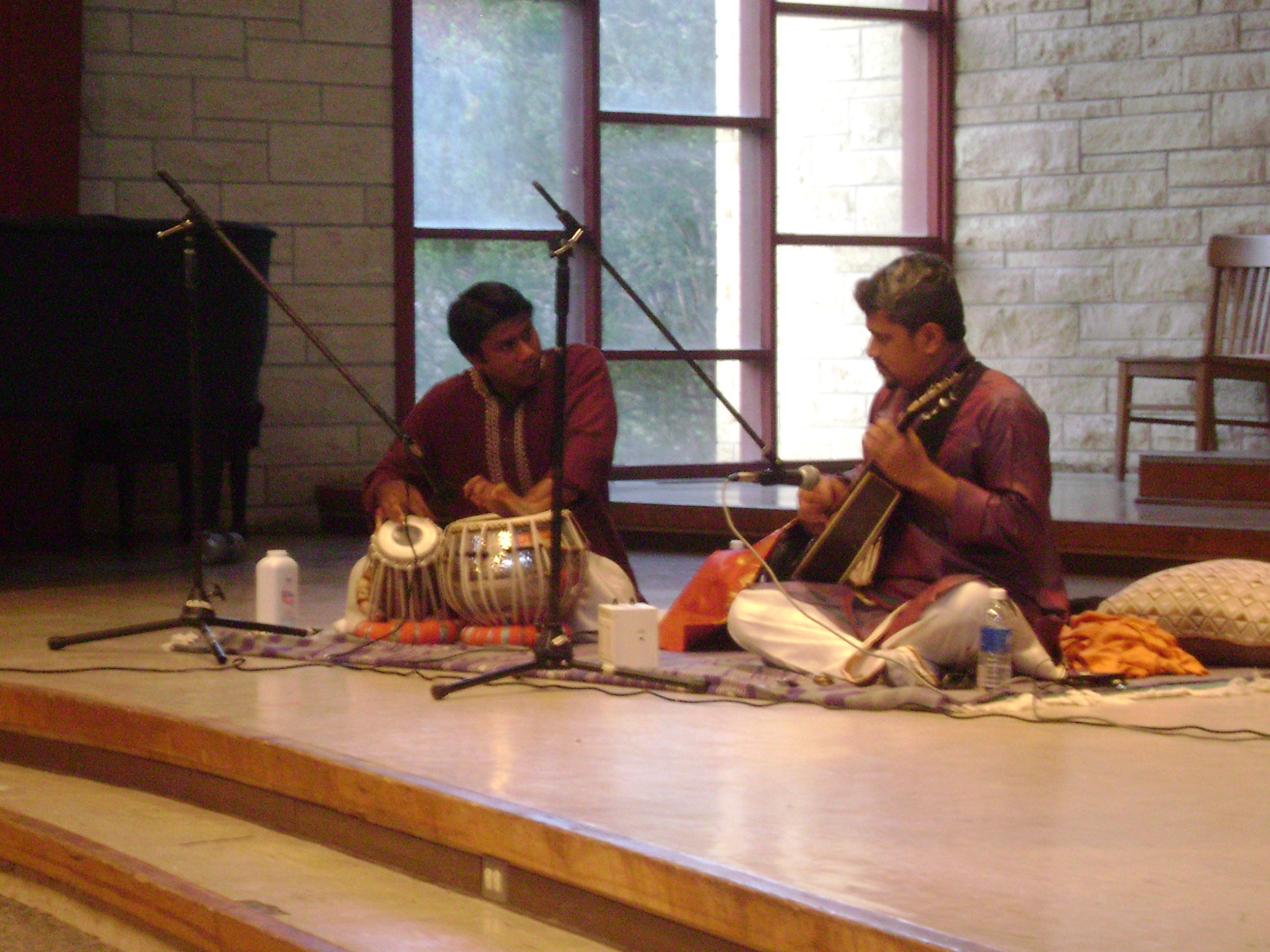 Anirban with Snehashish Majumbar