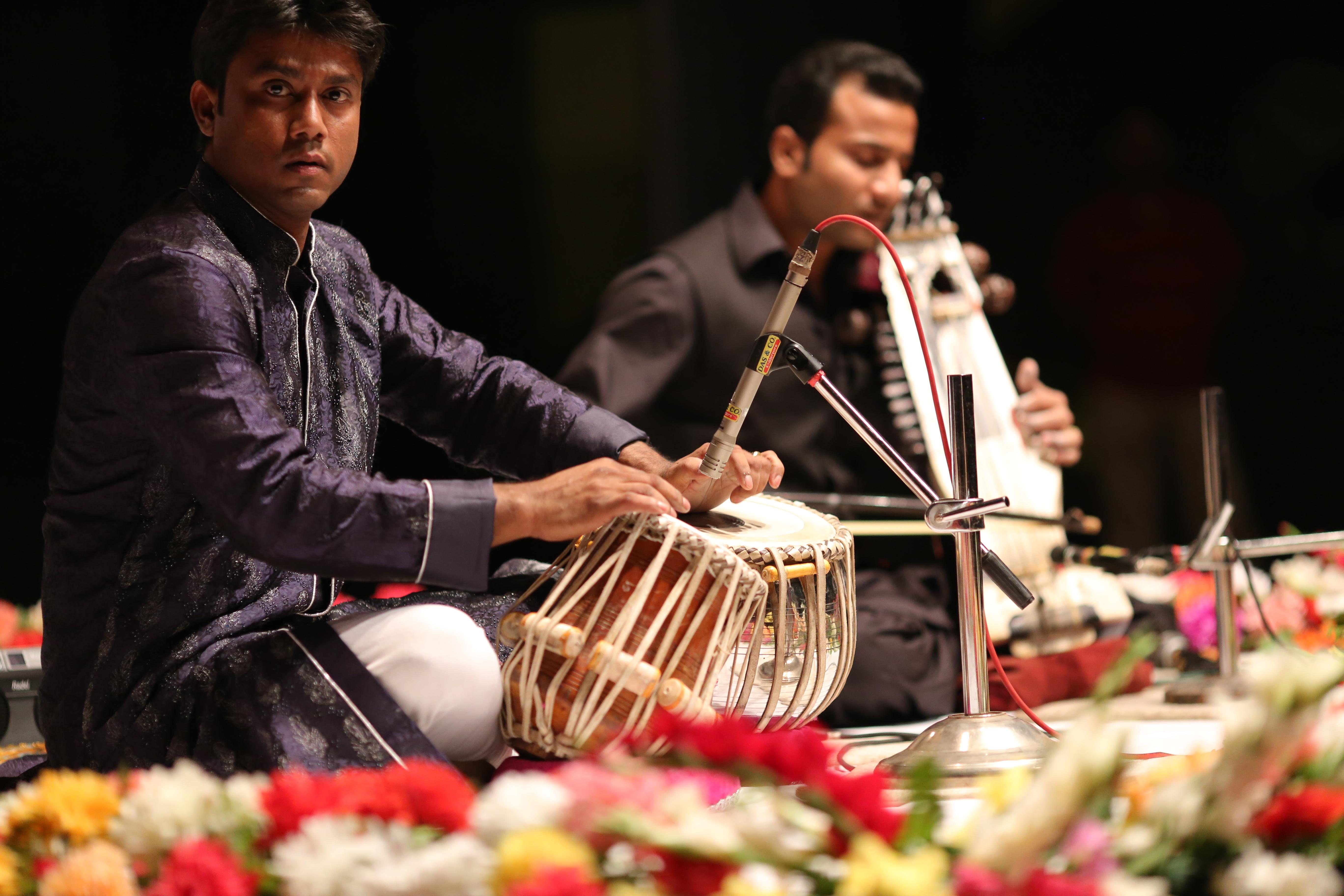 Anirban with Sabir Khan