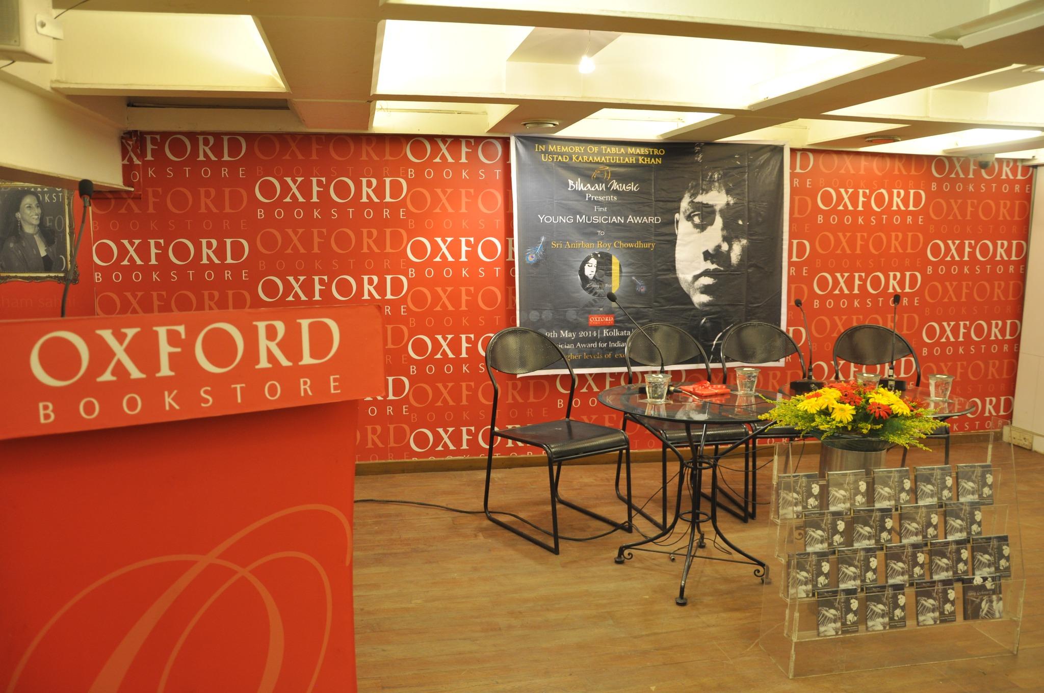 Award_CD release_Oxford Bookstore