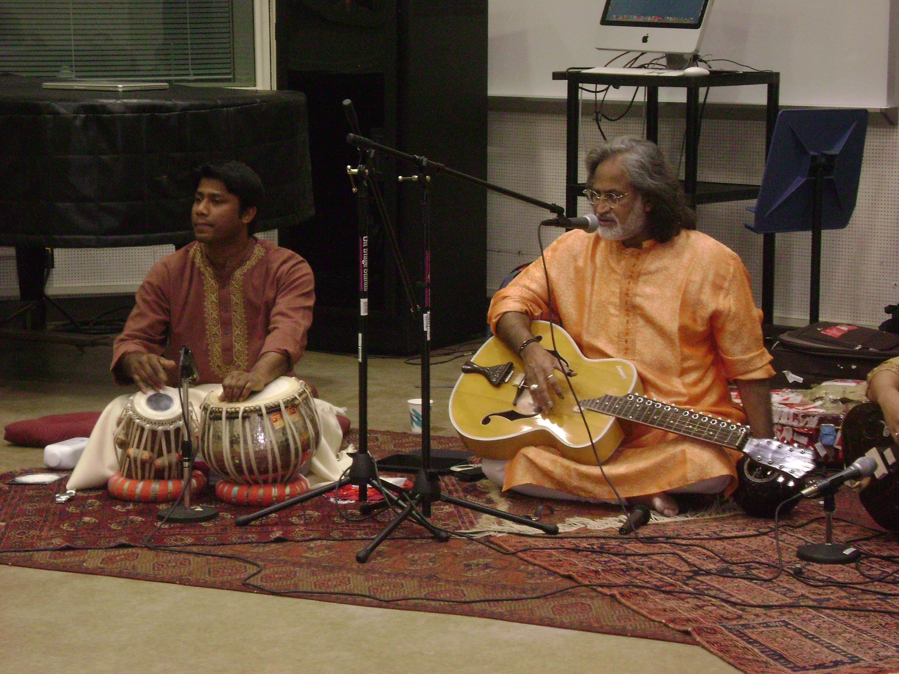 Anirban with Vishwa Mohanji