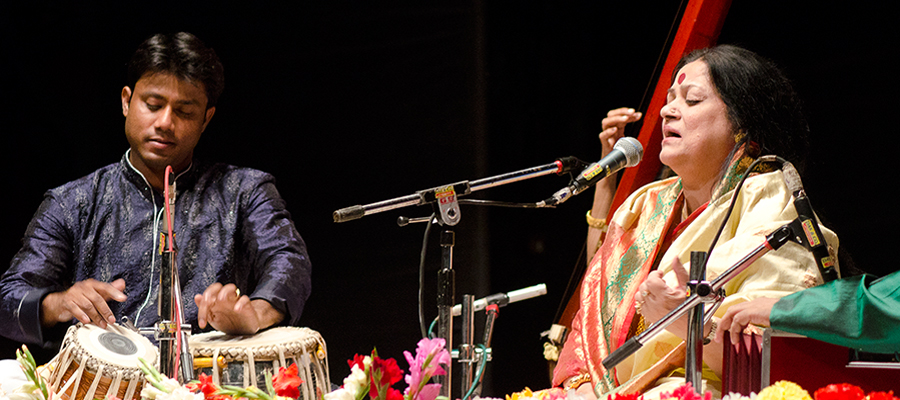 Anirban with Haimanti Sukla