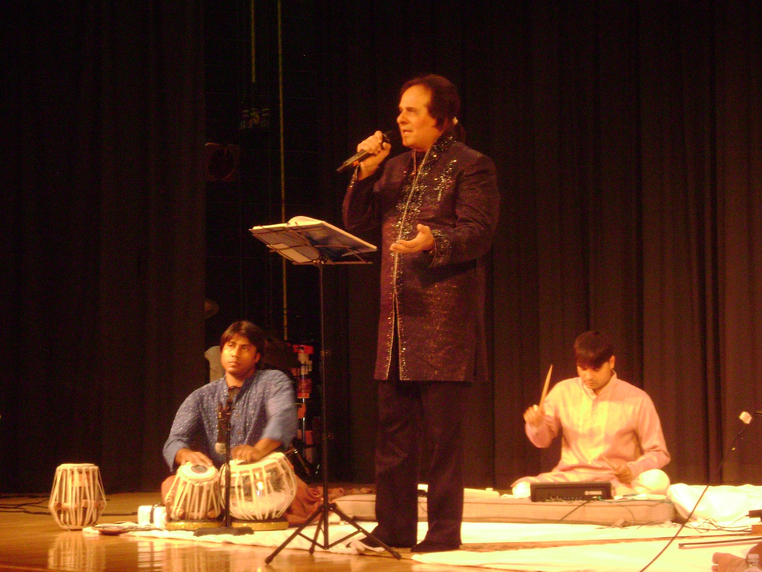 Anirban and Manhar Udhas
