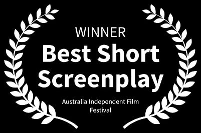 WINNER-BestShortScreenplay-AustraliaInde