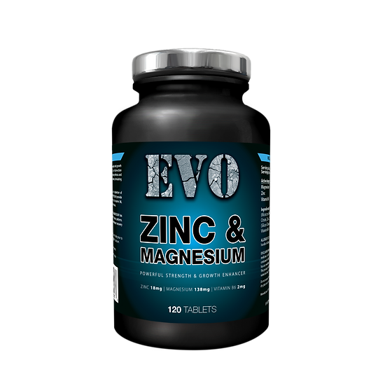 EVO ZMB6 | Zinc and Magnesium Tablets