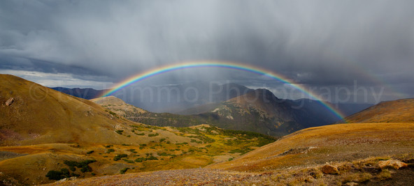 Rainbow over Rocky Mountains (2272)