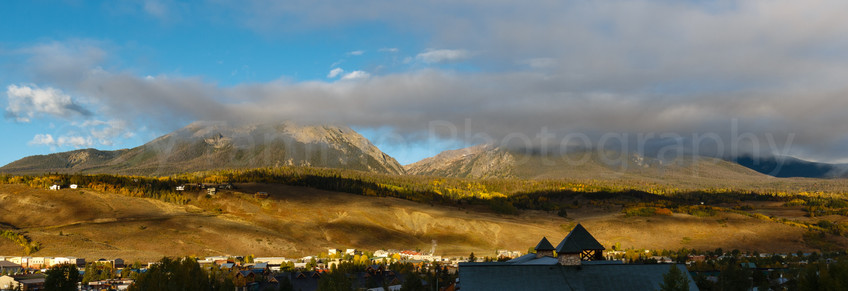 Clouds over Silverthorne (2800)