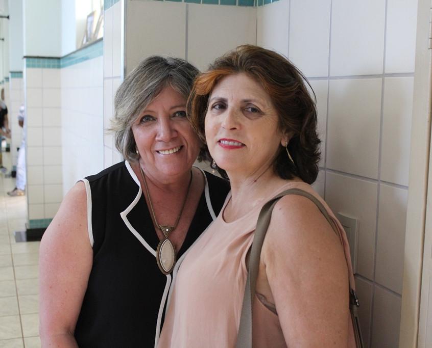 Nancy Oliveira e Marilda Marques