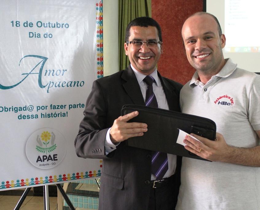 Dr. Hélio e Filipe do Carmo