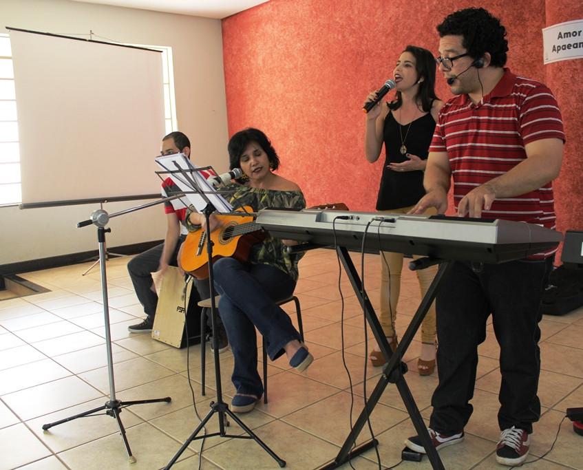 Antônio, Sandra, Tayrine e Severo