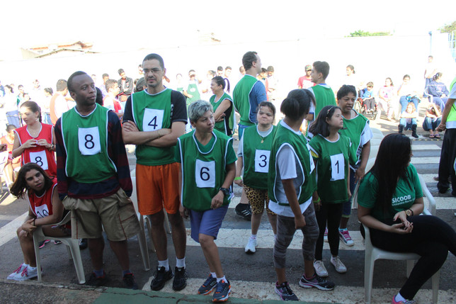 Força e determinação na Mini Maratona de revezamento da APAE Anápolis
