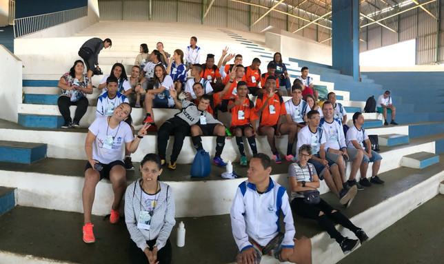 Os alunos da APAE Anápolis participaram da 8ª Olimpíada Especial das APAEs do Estado de Goiás