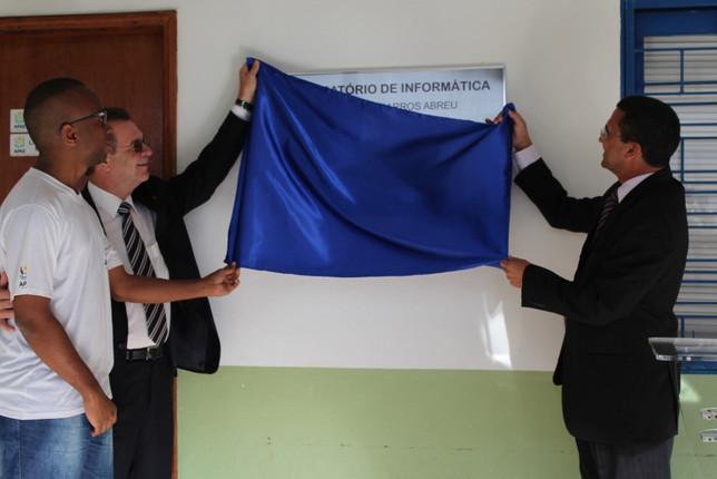 Laboratório de informática da APAE Anápolis é inaugurado em parceria com a Triunfo Concebra