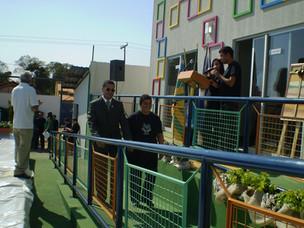 2010 - Inauguração da Casa Viva