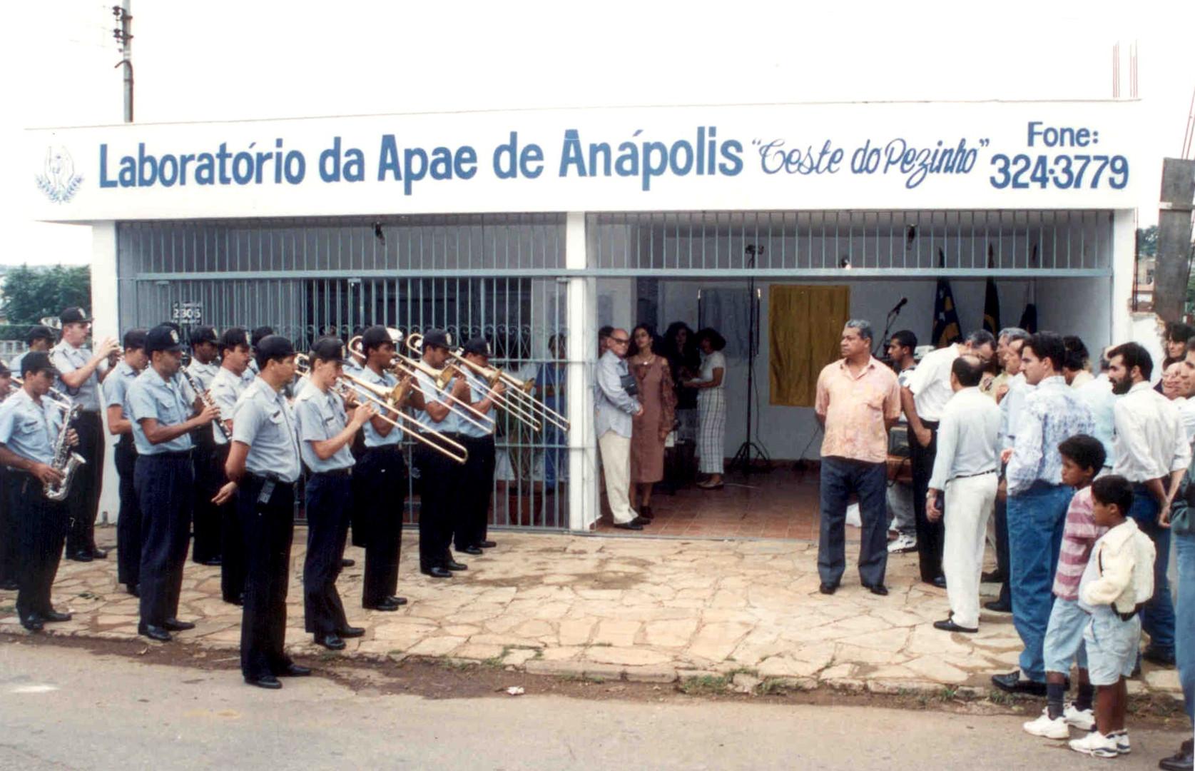 1994 - Inauguração do Laboratório